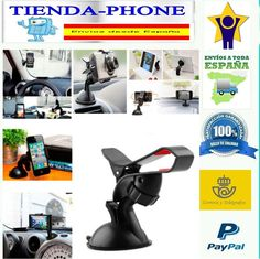 SOPORTE COCHE PARA SMARTPHONE IPHONE 4 4 G 4 GS SAMSUNG HOLDER UNIVERSAL GPS