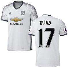 Manchester United 16-17 Daley Blind 17 TRødje Trøje Kortærmet.  http://www.fodboldsports.com/manchester-united-16-17-daley-blind-17-trodje-troje-kortermet.  #fodboldtrøjer