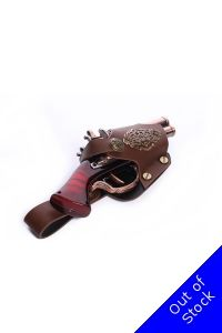 Decorative Ornate Steampunk Pistol with Filigree Panel Holder GS02