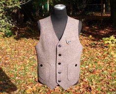 1930s reproduction Hunting Vest - Made to order. €195.00, via Etsy. For Matt.