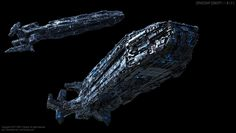 Spaceship Concept I by ERA-7S