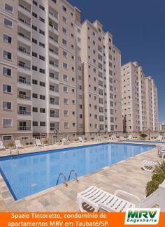 Paisagismo do Spazio Tintoretto. Condomínio fechado de apartamentos localizado em Taubaté / SP.