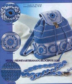 Handmade Kids Bags (29) - Knitting, Crochet, Dıy, Craft, Free Patterns