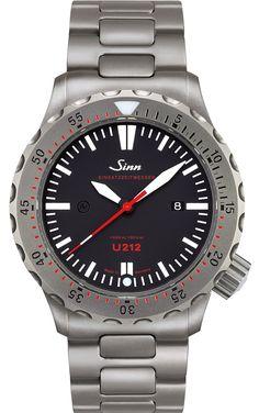 2786d3d09dfa5 Sinn Watch U212 - EZM 16 Bracelet 212.040 Bracelet Watch