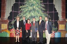 From left to right, Gay Cookson, director of the Utah Division of Arts and Museums; Adam Sklute, artistic director of Ballet West; Utah First Lady Jeanette Herbert; Utah Governor Gary Herbert; Scott Altman, executive director of Ballet West; and me