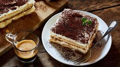 Italian Tiramisu, Most Popular Desserts, Chocolate Liqueur, Chocolate Powder, Vanilla Cookies, Whole Eggs, Serious Eats, Cream And Sugar, Mochi