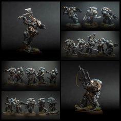 Warhammer 40k Space Wolves, Silly Games, 501st Legion, Fantasy Battle, Warhammer 40k Miniatures, Warhammer Fantasy, Mini Paintings, Old World, Wolf