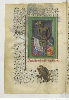 Wonderfully Creepy. Horae ad usum Parisiensem [Heures de René d'Anjou, roi de Sicile (1434-1480)] folio 113v