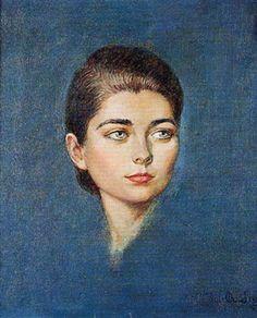 The Princess Hélène Astrid of Orléans (b. 1934). She is a daughter of The Prince Henri Robert The Count of Paris and his wife, The Princess Isabel of Orléans-Braganza. She is the wife (from 1957) of The Count Evrard of Limburg-Stirum. Her children are The Counts Thierry, Louis, Bruno, and The Countess Catherine. [Portrait by Alejo Vidal-Quadras, 1956]