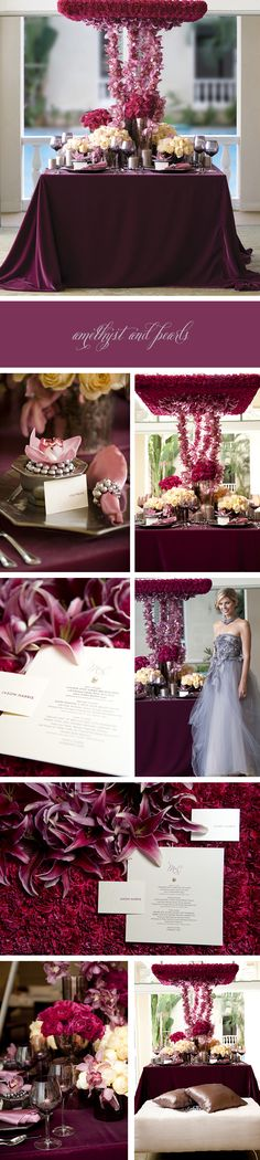 This table setting is absolutely gorgeous.  Love the orchids.  Love place settings.  <3.