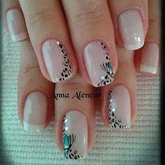Uñas decordas Diy Nails, Cute Nails, Beauty Nails, Hair Beauty, Nailart, Celebrity Beauty, Nail Designs, Make Up, Tattoos