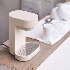 《設計師最愛》日本 ±0 深澤直人 雙人咖啡機(米白)