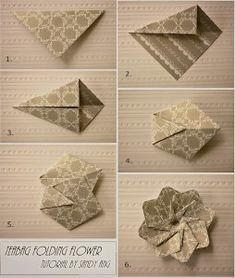 Handmade Vellum Flowers