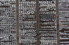 Hyundai Motor vehicles bound for export await shipment at a port near the company's plant in Ulsan, South Korea.  Photographer: SeongJoon Cho/Bloomberg