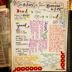 Day 11 of my Scripture Journal in Romans. I am using the Scripture Journal from Farm Girl Journals on Etsy.