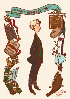 Draco by RaRo81 on DeviantArt #harrypotter #fanart
