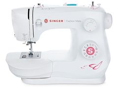 SINGER Fashion Mate 3333 Free-Arm Sewing Machine including Stitches Fully Built-in Buttonhole, Automatic Needle Threader, LED Light, perfect for sewing all types of fabrics with ease Sewing Machine Online, Sewing Machines Best, Sewing Machine Reviews, Sewing Hacks, Sewing Crafts, Sewing Projects, Quilting Projects, Sewing Ideas, Diy Projects