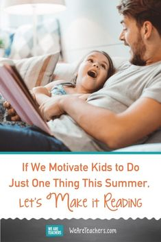 If We Motivate Kids to Do Just One Thing This Summer, Let's Make It Reading. This year Reading Is Fundamental is offering tons of free summer reading resources for kids, including reading logs, calendars, and more. Reading At Home, Reading Logs, Kids Reading, Reading Skills, Engage In Learning, Social Emotional Learning, Reading Resources, Reading Activities, 40 Book Challenge