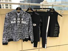 Check out these new Ladies DKNY items that just arrived at the Blackhawks Store, New Product, Product Launch, Adidas Jacket, Kimono Top, Brand New, Lady, Check, Jackets