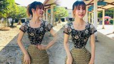 Game Online Terpercaya: Sosok Wanita Myanmar yang Diyakini Punya Pinggang ... Short Sleeve Dresses, Dresses With Sleeves, Guinness, Game, Blouse, Tops, Fashion, Gowns With Sleeves, Moda