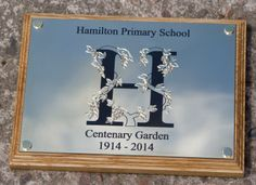 Lovely plaque on a backing board which uses a combination of techniques - laser engraving, followed by scratch engraving. http://www.sign-maker.net/engraved/laser-engraved-brass.html