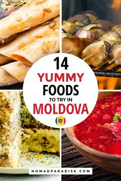 Looking for things to do in Moldova? This Moldova food guide is perfect for foodie travelers. Learn all about the must-try delicious dishes in Chisinau, Moldova. Bosnian Recipes, Croatian Recipes, Great Recipes, Favorite Recipes, Healthy Recipes, International Food Day, Eastern European Recipes, Around The World Food, Delicious Dishes