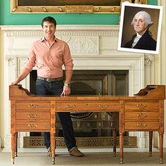 Get heirloom restoration advice from the man entrusted with President George Washington's desk