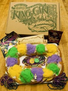 King cakes a New Orleans delicacy