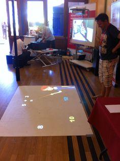 Sol interactif développé par Maskott