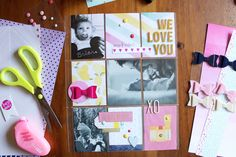 Baby Scrapbook   A Beautiful Mess Messy Book   Ann-Marie Espinoza