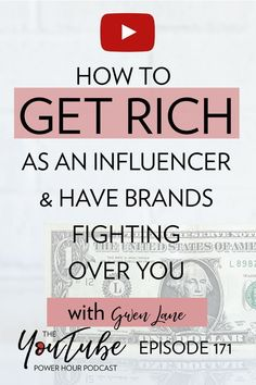 Ready to learn all about working with brands with an influencer marketing SUPERSTAR? IG influencer and expert Gwen Lane is here to give you her best tips! Get Rich Quick, How To Get Rich, Content Marketing, Affiliate Marketing, Media Marketing, Free Facebook, Influencer Marketing, Pinterest Marketing, Social Media Tips