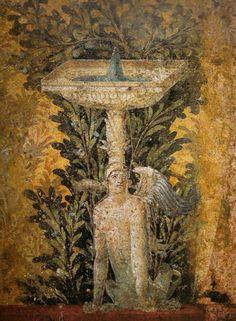 fresque de la villa de Poppée à Oplontis