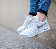 new style 56431 1c67a Trendy Women s Sneakers 2017  2018   Nike Air Max Thea WMNS – Light Base  Grey
