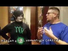 Hoping you'll love this... Nameless Comedy Tatsu Con 2016 Interview: Morgan & MJ Homestuck Cosplay https://youtube.com/watch?v=DR_Iddvl3ME