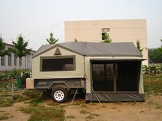 Let's Go Camping! - Outdoor Camping Tips Off Road Camping, Camping Glamping, Outdoor Camping, Camper Trailer Tent, Rv Campers, Tent Trailers, Camping Trailer Diy, Offroad Camper, Camping Survival