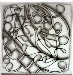 "Tickled To Tangle: ""It's a String Thing"" #49 ""Zenth"" Anniversary Tiles"