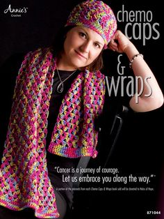 Crochet - Think Pink Patterns - Chemo Caps & Wraps