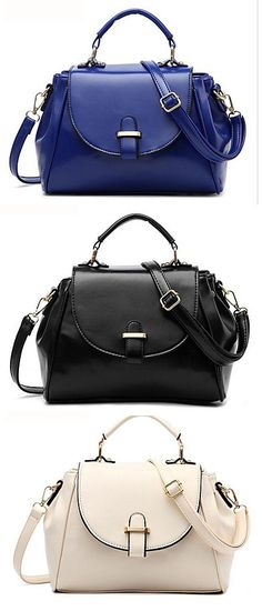 Such a handy messenger bag to take to the office! What's your prefer color? Click for more details.