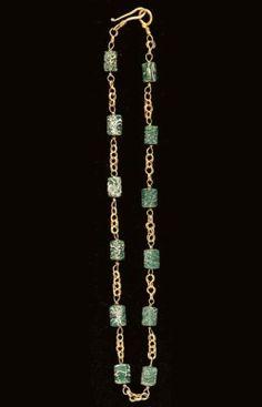Renaissance Jewelry, Medieval Jewelry, Ancient Jewelry, Victorian Jewelry, Antique Jewelry, Byzantine Jewelry, Vintage Jewelry, Glass Necklace, Glass Jewelry