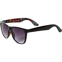 Aztec/tribal sunglasses - River Island