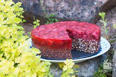 Zajíci v krabici: Pohankový koláč s jahodami