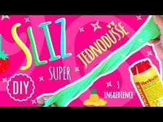 Jak vyrobit Super Jednoduchý Sliz ze 3 Domácích Ingrediencí - DIY 2017 - YouTube