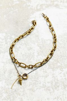 Angel Court Pendulum Necklace - Urban Outfitters