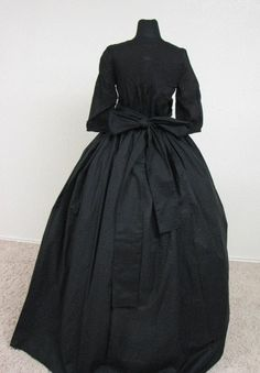 Civil War/Victorian Mourning Gown by enchantedkingdom