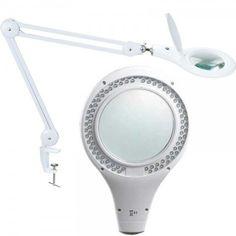 Flexo Lupa Pro´s Kit con  90 led  y 5 Dioptrias de aumento ideal para realizar trabajos de cerca ya que cuenta con una distancia focal excelente