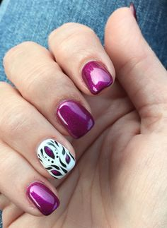 Love my nails! Kim at Fabulnique is the best!