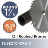 "Oil Rubbed Bronze 1-5/16"" Diameter Rod, CUSTOM CUT. Starting at $8.75"