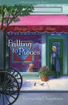 Vanetta Chapman- Falling to Pieces (Amish Mystery SERIES, 1). Author Vannetta Chapman brings a fresh twist to the popular Amish fiction genre. She blends the familiar components consumers love in Amish books--faith, community, simplicity, family--with an innovative who-done-it plot that keeps readers guessing right up to the last stitch in the quilt.