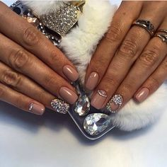 Beige half moon nails, Classic nails ideas, Classic short nails, Funky nails, Heart nail designs, Hearts on nails, Luxurious nails, Luxury nails