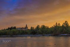 Rivalta Castle @ Sunset - null